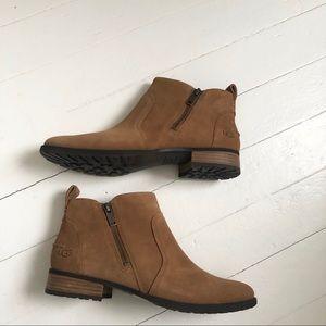 Ugg aureo || suede waterproof ankle boots